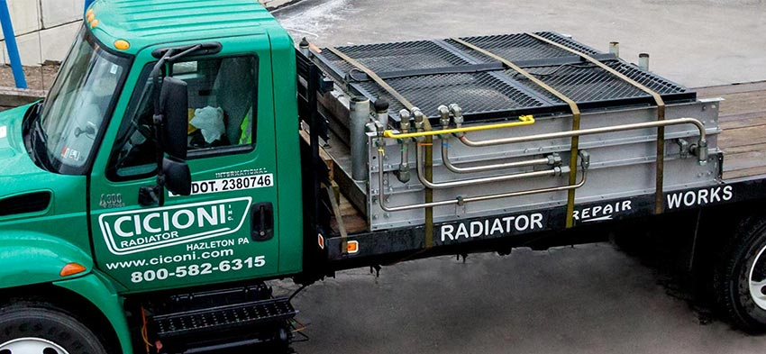 Fracking radiator repair, service, maintenance, shut downs, outages in PA, NY, NJ, WV, VA, MD, OH.